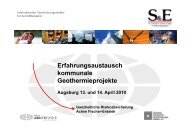 Erfahrungsaustausch kommunale ... - GGSC Seminare