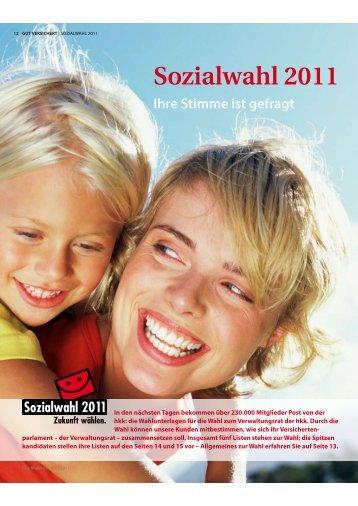 hkk - Kandidaten und Listen ( PDF , 258 kB ) - Sozialwahl 2011
