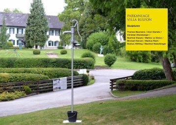 Werke Skulpturenpark (PDF, 2 MB) - Artpark Villa Bulfon