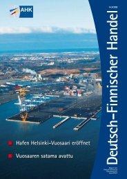 n Hafen Helsinki-Vuosaari eröffnet n Vuosaaren ... - AHK Finnland