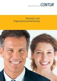 Personal- und Organisationsentwicklung - CONTUR Gmbh ...