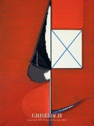 Kunst nach 1945 - Villa Grisebach Auktionen GmbH