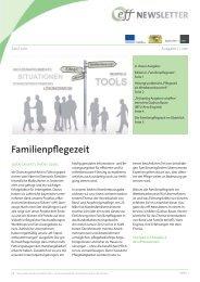 Familienpflegezeit - effizient familienbewusst führen