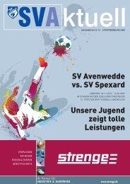 17.00 Uhr 08.00 - 17.00 Uhr 08.00 - SV Avenwedde