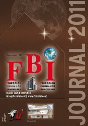 Mobil: 0664 2055830 info@fbi-immo.at - FBI - Friedrich Brunauer ...
