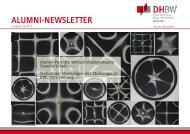 Alumni-Newsletter 04/2010 - DHBW Karlsruhe