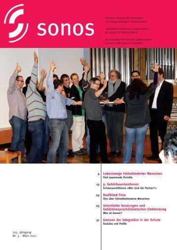 Bildungsangebote 2011 - Sonos