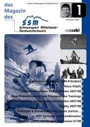 Oktober 2007 - Regionalverband Schneesport Mittelland