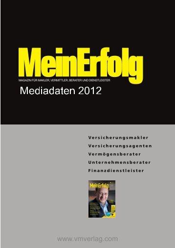 MeinErfolg 2012.pdf - MeinDoktor