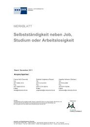 Selbstständigkeit neben Job, Studium oder Arbeitslosigkeit - vonex