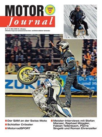 MOTOR Journal - personal sport service