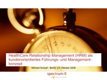 HealthCare Relationship Management
