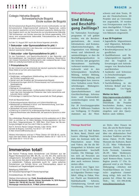 LCH-Erhebung: Beratung für Lehrpersonen Guter Lohn ... - beim LCH