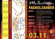 Flyer herunterladen (PDF) - Fackelzauber