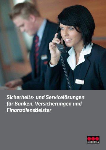 Sicherheits- und Servicelösungen für Banken, Versicherungen und ...