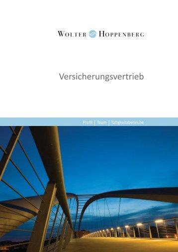 Versicherungsvertrieb - Wolter Hoppenberg