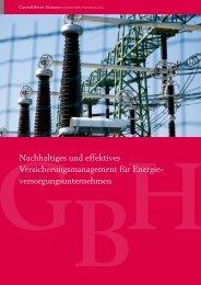 nachhaltiges und effektives Versicherungsmanagement für energie ...
