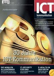 ICTkommunikation, Jubiläumsausgabe, September 2009 - Adcubum