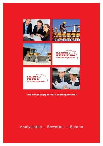 Analysieren – Bewerten – Sparen - WRV GmbH