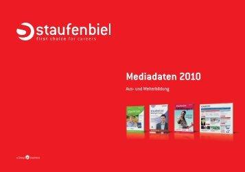 Mediadaten 2010 - Staufenbiel.de