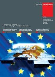 Forschen für Europa - im Forschungsinformationssystem der TU ...