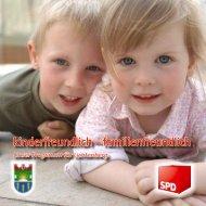 kinderfreundlich – familienfreundlich - SPD Lichtenberg