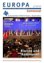 Europa kommunal - ICLEI Rio +20