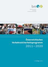 Österreichisches Verkehrssicherheitsprogramm 2011-2020