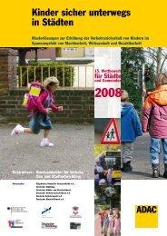 Kinder sicher unterwegs in Städten