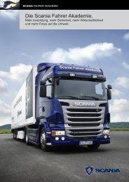 Die Scania Fahrer Akademie.