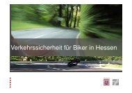 Verkehrssicherheit für Biker in Hessen