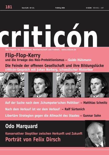 Odo Marquard - Hans-Hermann Hoppe