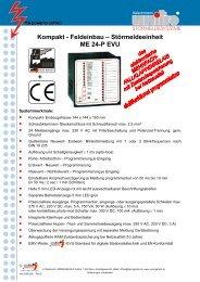 Störmeldeeinheit ME 24-P EVU - SPRINGSHOLZ GmbH
