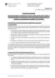 Commenti generali all'avamprogetto di ordinanza sull ... - admin.ch