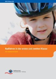 Radfahren in der ersten und zweiten Klasse - Verkehrserziehung ...