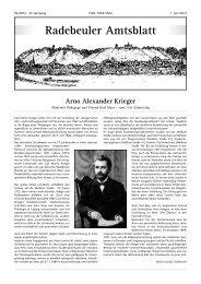 Amtsblatt Juni 2012 - Radebeul