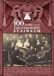 Download: Chronik der Theatergruppe Stainach - Regionale10