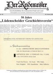 165 - Geschichts- und Heimatvereins Lüdenscheid