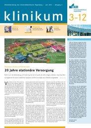 Ausgabe 03 | Juni 2012 - Universitätsklinikum Regensburg