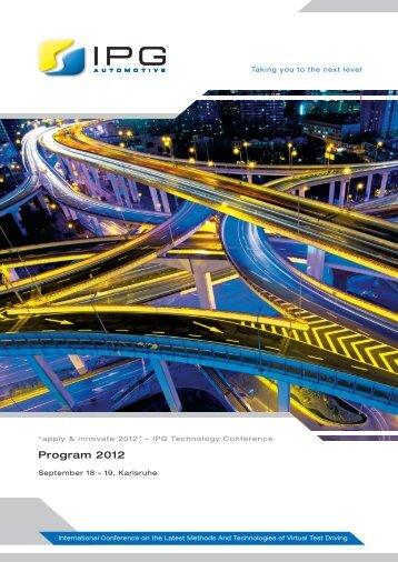 Program 2012 - IPG Automotive
