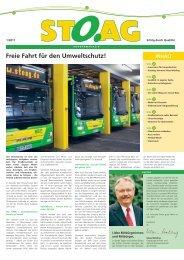Kundenzeitschrift 1/2011 - Stoag