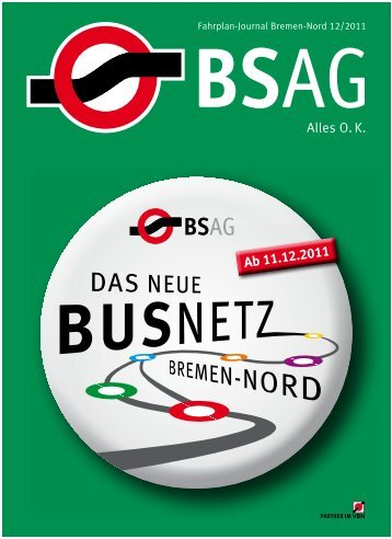 Fahrplan-Journal Bremen-Nord 12/2011 - BSAG