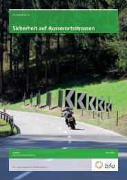 Sicherheit auf Ausserortsstrassen - BfU
