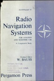 RADIO NAVIGATION SYSTEMS FOR AVIATION AND MARITIME USE