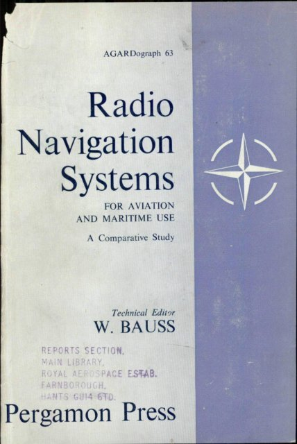 RADIO NAVIGATION SYSTEMS FOR AVIATION AND MARITIME USE on