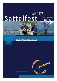 Sattelfest Nr. 120 - VC Allschwil