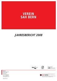 VEREIN SAH BERN - Schweizerisches Arbeiterhilfswerk