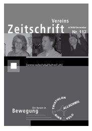 Zeitschrift - VC Allschwil