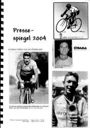 Pressespiegel 2004 - Velo-Club