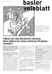5/2007 - Pro-Velo beider Basel